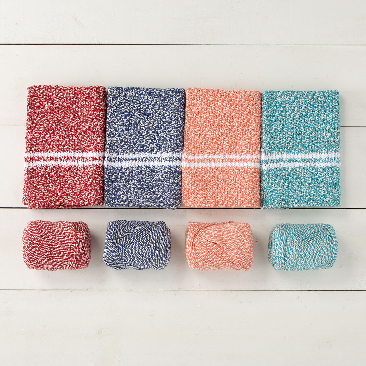 Knitting Pattern Kit for Dish Towels