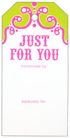 Knitterella Just For You Gift Tags