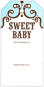Knitterella Sweet Baby Gift Tags