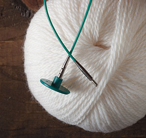 Knitting Cable Stitch On Circular Needles : Options Interchangeable Circular Knitting Needle Cables - Green single pack f...