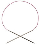 Options Nickel Plated Fixed Circular Knitting Needles