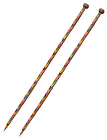 Straight Rainbow Knitting Needles
