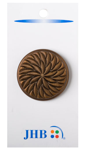 Twisted Flower Buttons - Copper