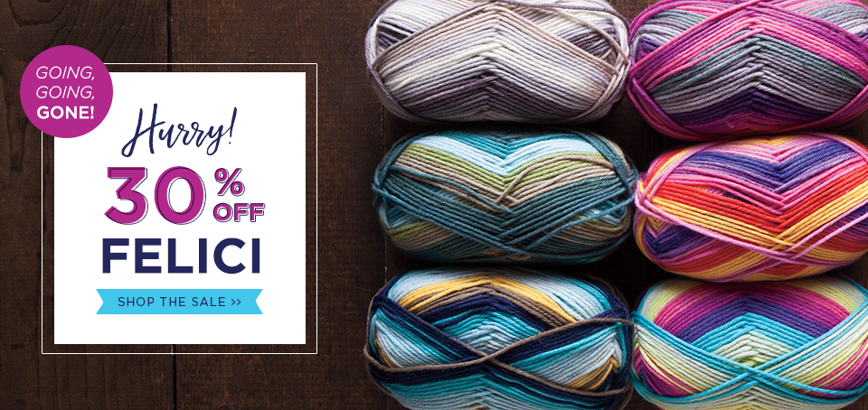 Felici Yarn Sale - 30% Off Felici Yarns