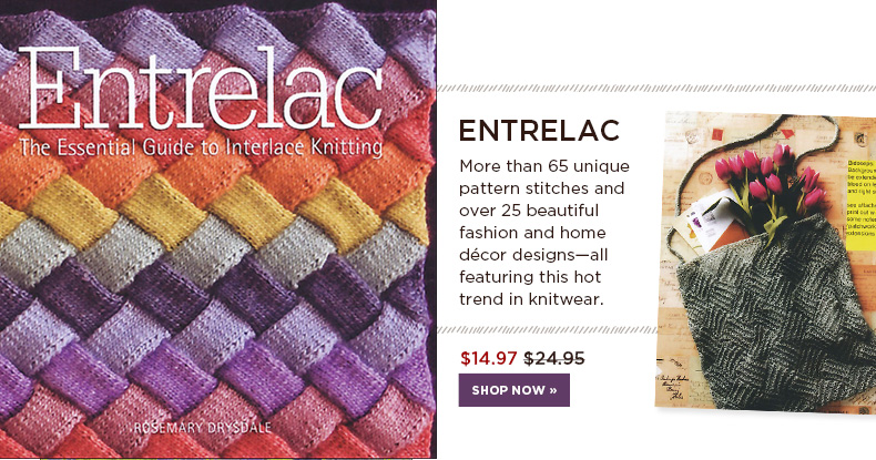 Entrelac Knitting Pattern Books : Knitting Books from KnitPicks.com
