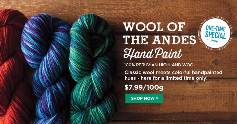 Wool of the Andes Hand Paint