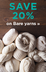 Monthly Yarn Sale - Save 20% off Bare Yarns