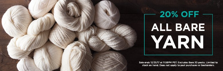 Bare Yarn Sale