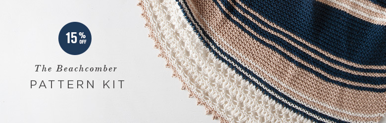Knitting yarn and pattern instructions.