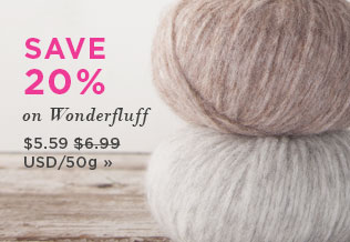 Monthly Yarn Sale - Save 20% on Wonderfluff Yarn