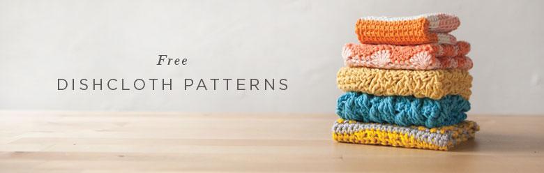 52 Weeks of Free Dishcloth Patterns