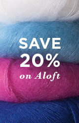Monthly Yarn Sale - Save 20% off Aloft Super Kid Mohair Yarn