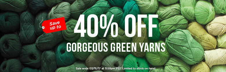 Green Yarn Sale