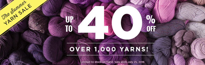 The Summer Yarn Sale