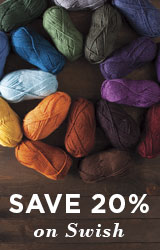 Monthly Yarn Sale - Save 20% off Swish Yarns
