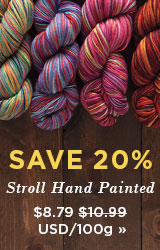 Monthly Yarn Sale - Save 20% on Stroll Hand Painted
