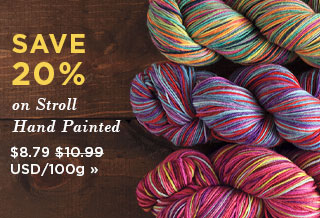 Monthly Yarn Sale - Save 20% on Stroll Hand Painted Yarn