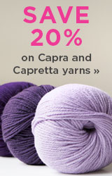 Monthly Yarn Sale - Save 20% off Capra and Capretta Yarns