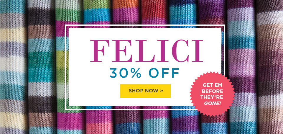 Felici Yarn Sale - Up to 30% off Felici Yarns