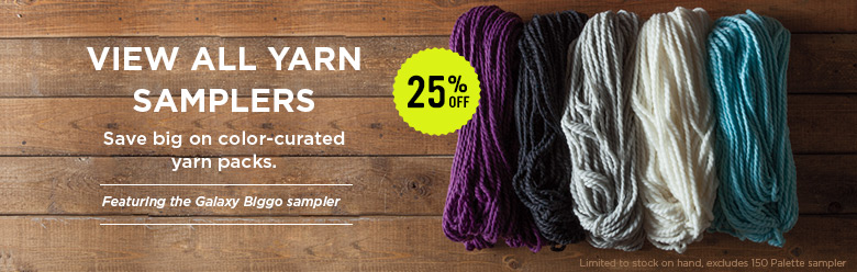 All Yarn Samplers