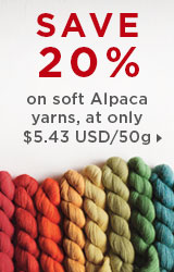 Monthly Yarn Sale - Alpaca Cloud