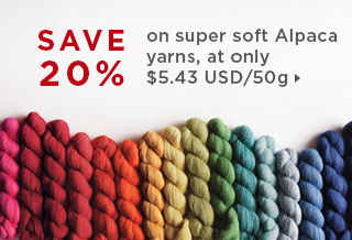 Monthly Yarn Sale - 20% Off Alpaca Cloud Yarn