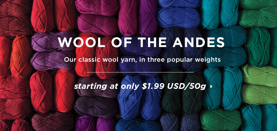 Low Price Guarantee - Wool Of The Andes