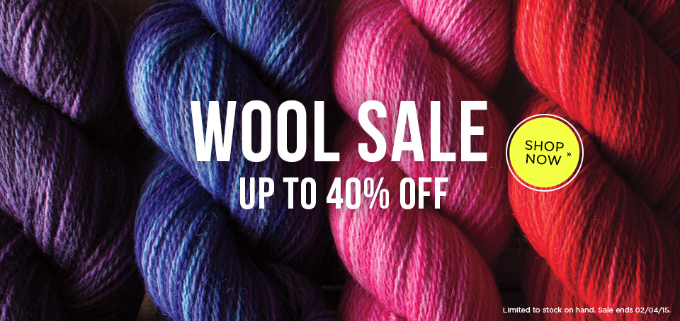 Wool Yarn Sale