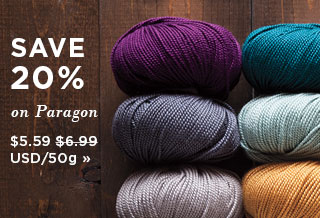 Monthly Yarn Sale - Save 20% on all Paragon yarn