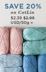 Monthly Yarn Sale - Save 20% off CotLin DK Yarns