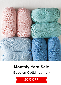 Monthly Yarn Sale - Save 20% on CotLin DK Yarns