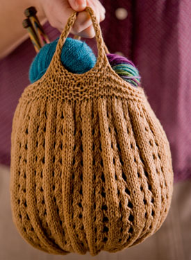 Knitting Project Bag Pattern