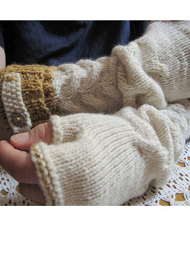 Shake the Barley Fingerless Gloves Pattern