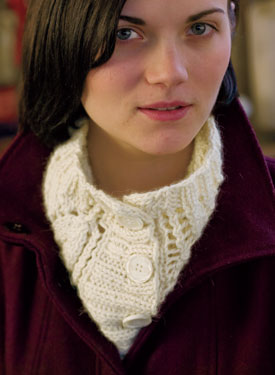Lush Button-Up Cowl Pattern