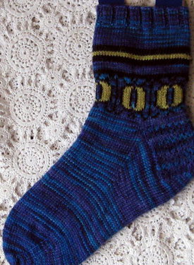 Catseye Socks Pattern