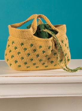 Summer Citrus Crochet Bag Pattern