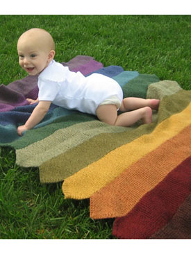 Pickets Baby Blanket Pattern