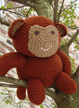 Graeme the Monkey Crochet Toy Pattern