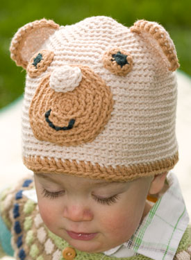 Adorable Bear Crochet Hat Pattern