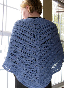 Dragon Tail Shawl Pattern