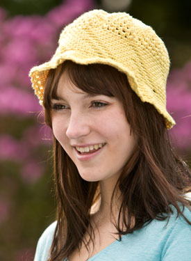 Cotton Crochet Sunhat
