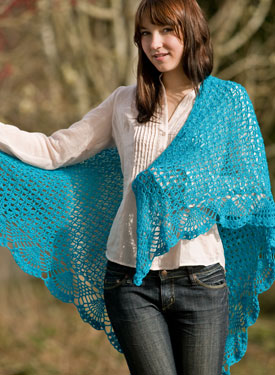 Dreams Lace Crochet Shawl