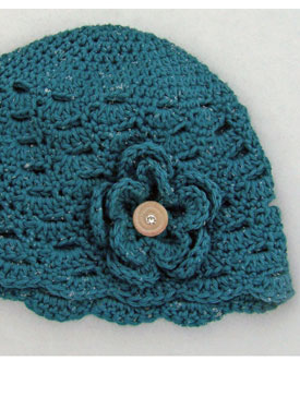On The Go Cloche Crochet Hat