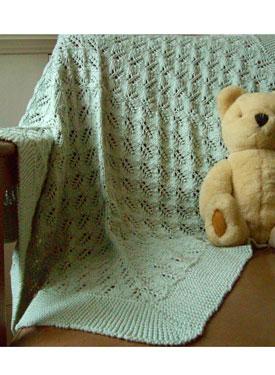 Knit Picky Patterns Baby Blankets : Larkin Baby Blanket - Knitting Patterns and Crochet Patterns from KnitPicks.com