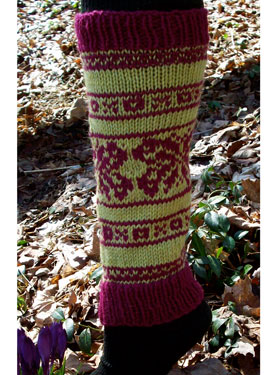 Butterflies & Kisses Leg Warmers