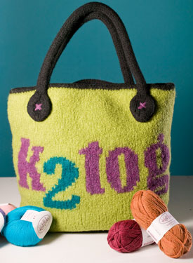 K2tog Knitting Bag