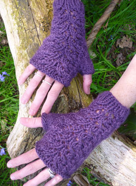 Kensington Fingerless Gloves Pattern
