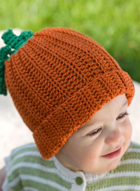 My Little Pumpkin Crochet Baby Hat & Booties