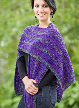 Linear Shawl