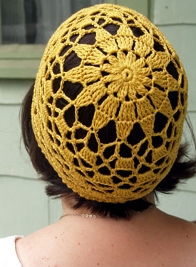 Radiant Sun Crochet Hat